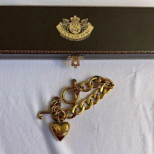 Juicy Couture Gold Bracelet Vintage Y2K
